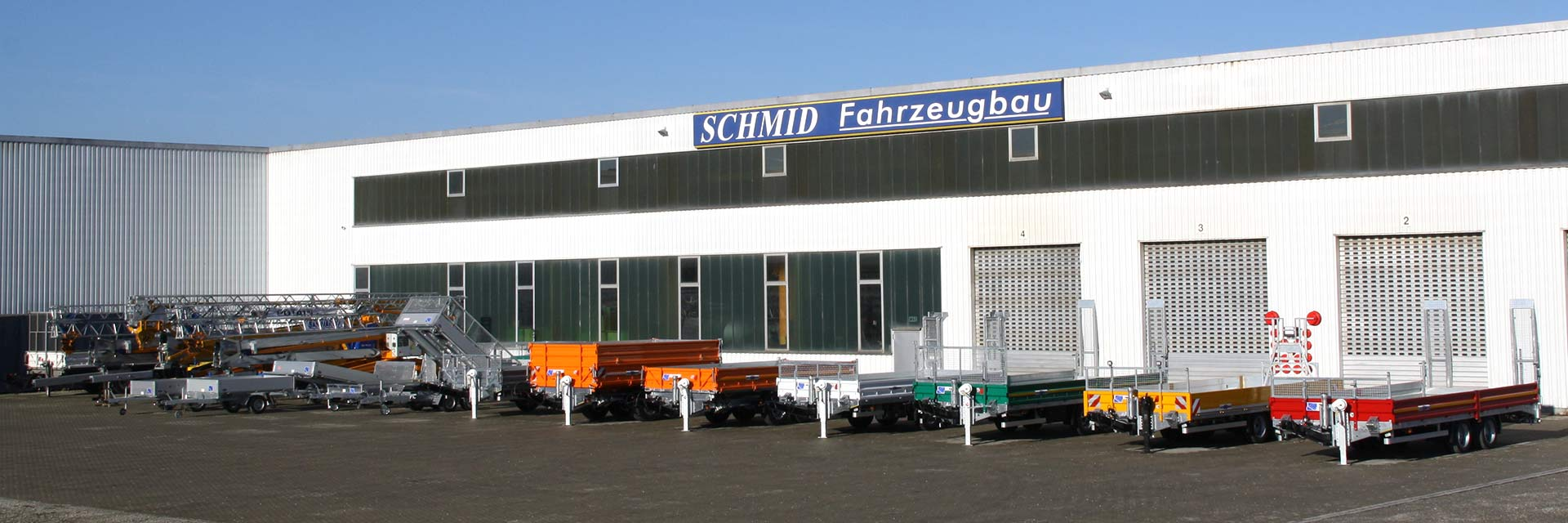 Schmid Fahrzeugbau / PKW-Anhänger, LKW-Anhänger, ...